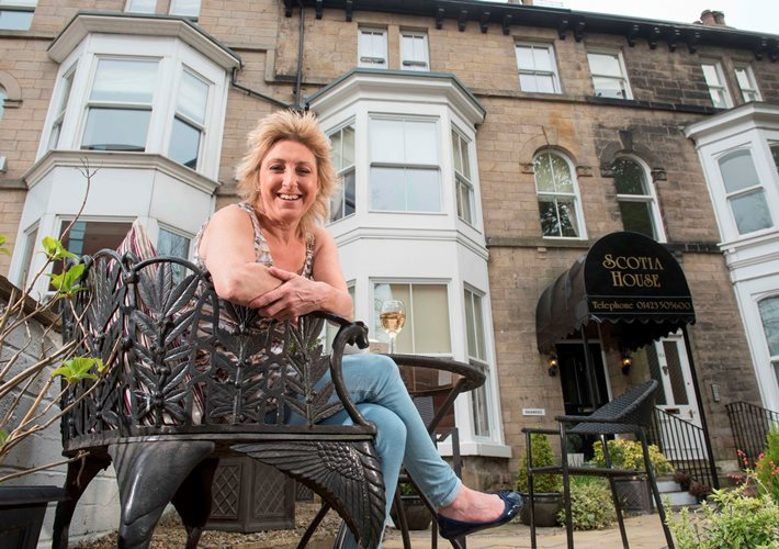 Harrogate  B&B owner sells up after starring in reality TV show