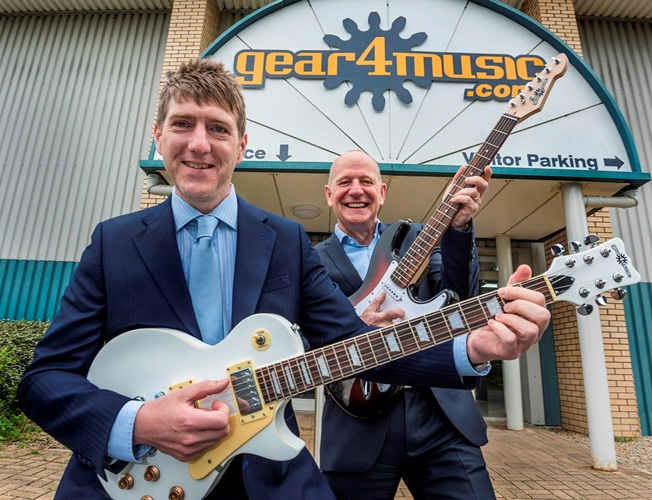 Yorkshire business named 'fastest growing musical instrument retailer in the world'