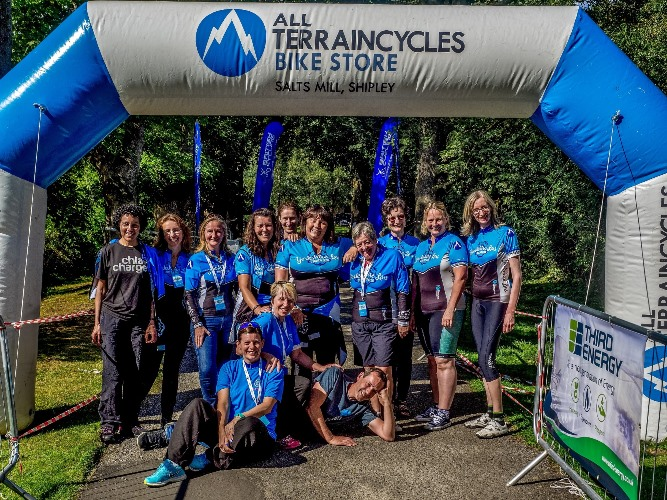 Over 300 Yorkshire Lasses join the region's first ladies-only charity cycling sportive