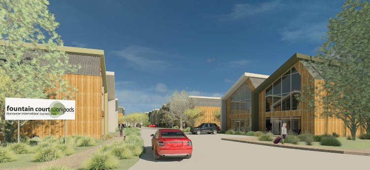 Sales at Doncaster Airport sustainable office scheme gather pace as transport links progress