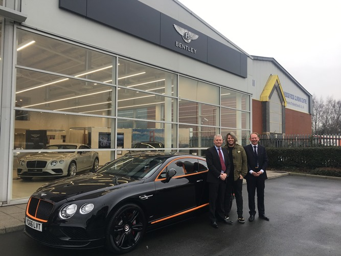 Bentley teams up with Michelin-starred Leeds restaurant