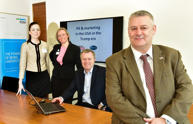 US consultant comes home to Yorkshire to share insights with local business