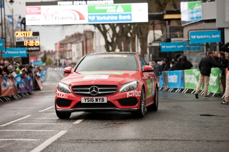 Mercedes-Benz fleet from JCT600 adds style to this year's Tour de Yorkshire