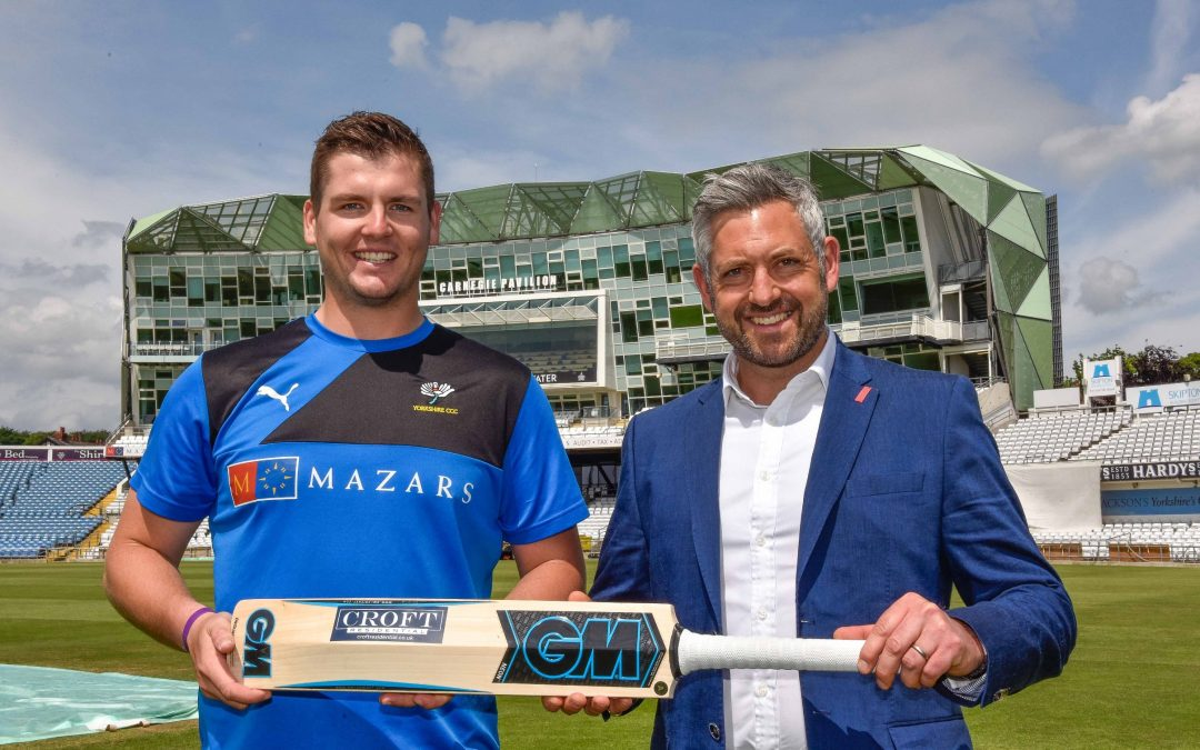 Property specialist backs young Yorkshire Cricket stars
