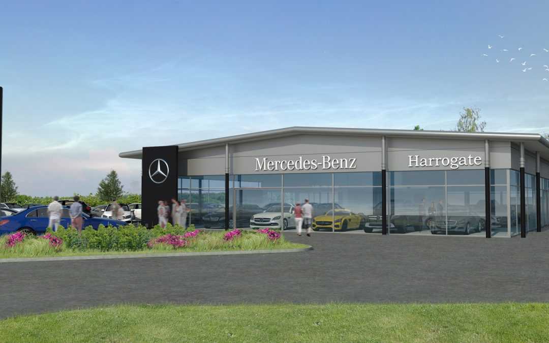 JCT600 starts work on £2m re-development of Mercedes-Benz dealership in Harrogate