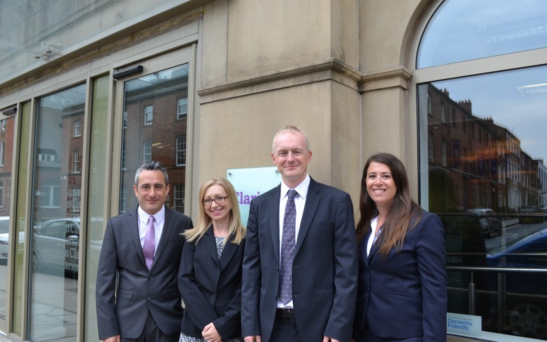 Four promotions for Clarion team