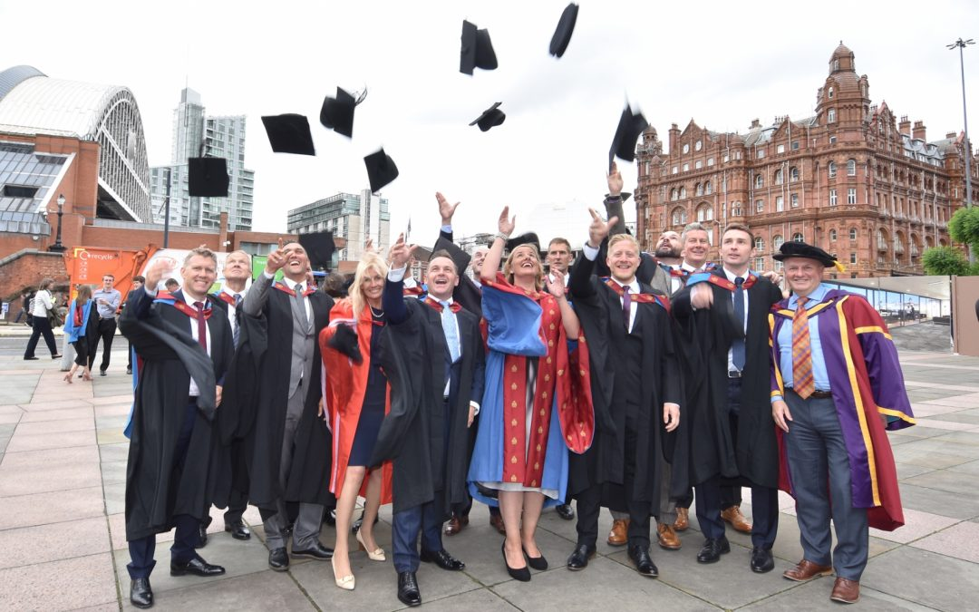 Sports stars graduate from world's first Master of Sports Directorship degree