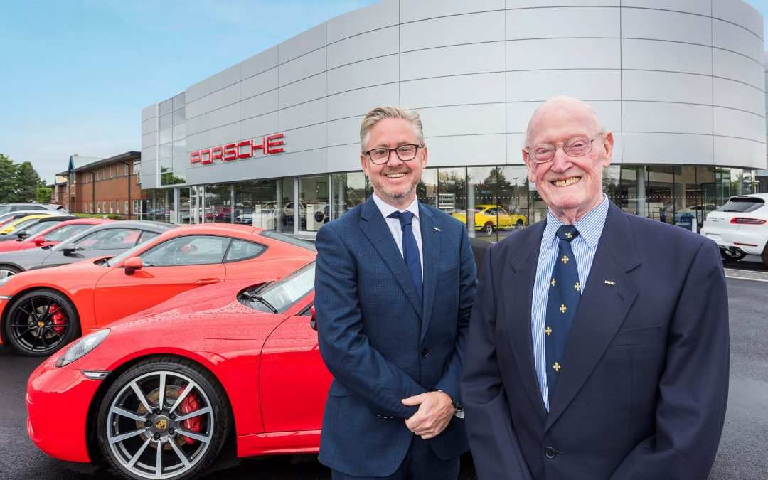 Completion of Porsche Centre Teesside