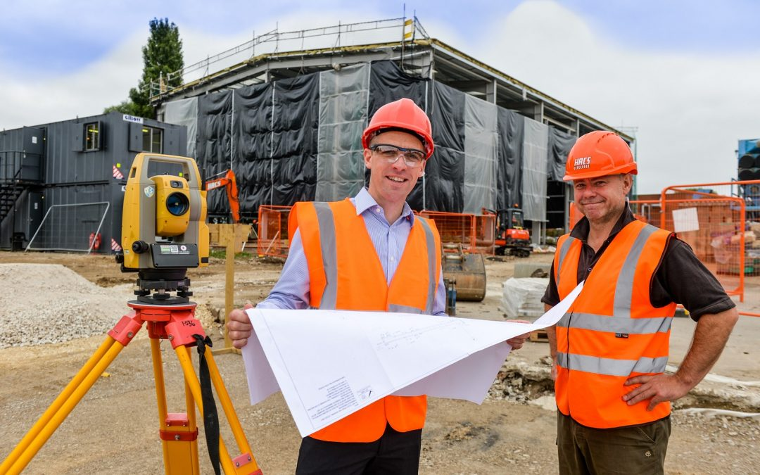 Regional growth fund supports work on new £1m warehouse project for Thirsk chemical processing business
