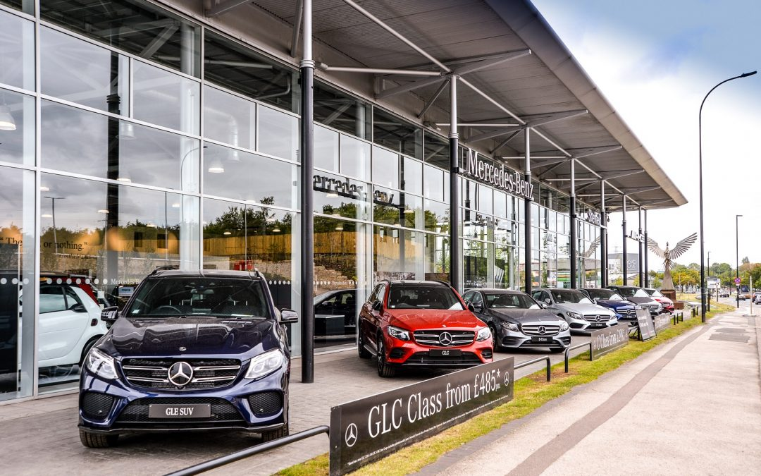 Customers celebrate refurbished showroom for Mercedes-Benz of Sheffield