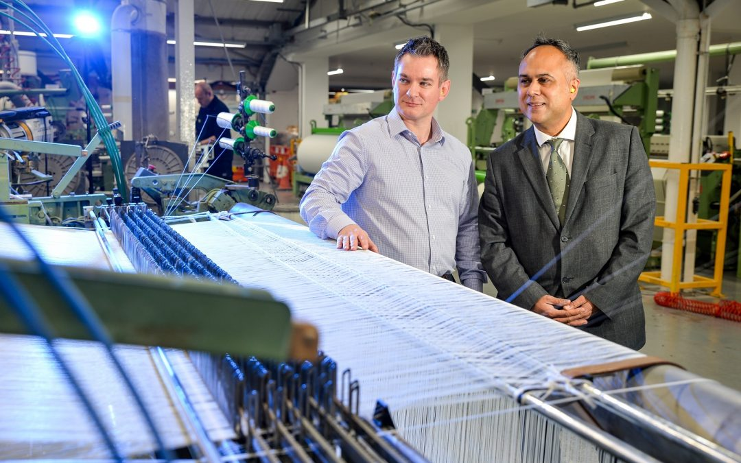 Yorkshire textiles manufacturer secures digital tech funding for growth