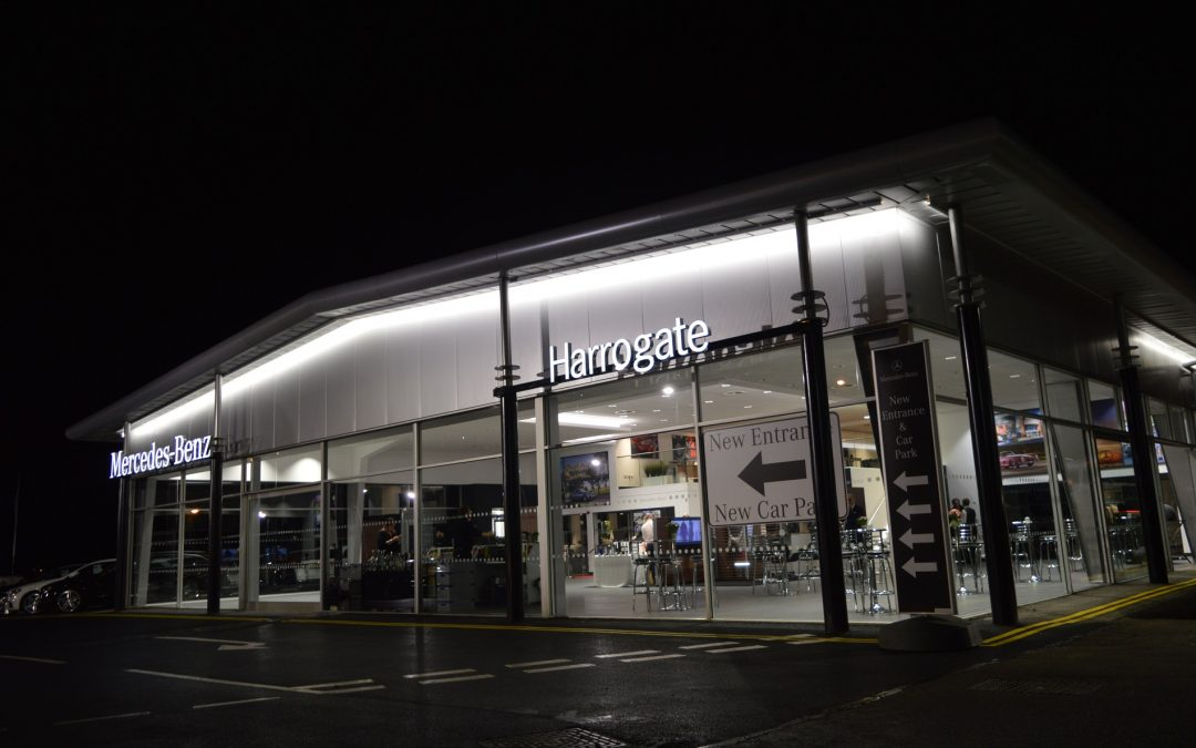 JCT600 welcomes customers to celebration of style and luxury at its re-developed Mercedes-Benz dealership in Harrogate