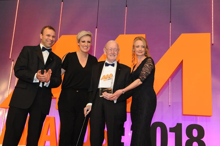 Motor trade honours JCT600 founder and chairman Jack Tordoff