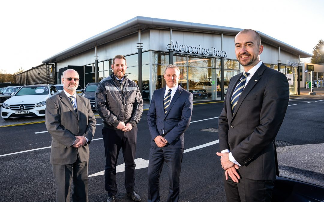 JCT600 completes work on £2m re-development of Mercedes-Benz dealership in Harrogate