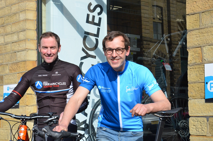 Sue Ryder announces All Terrain Cycles' sponsorship for summer sportives in aid of local hospice