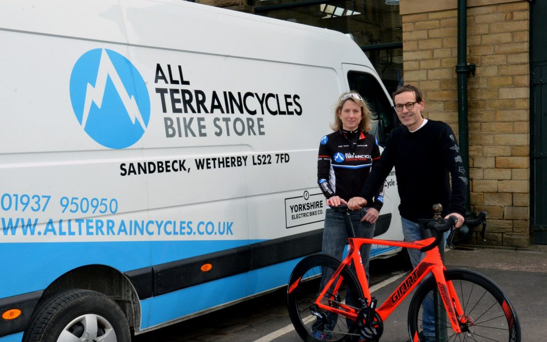 New cycling sponsor for award-winning Ilkley Triathlon