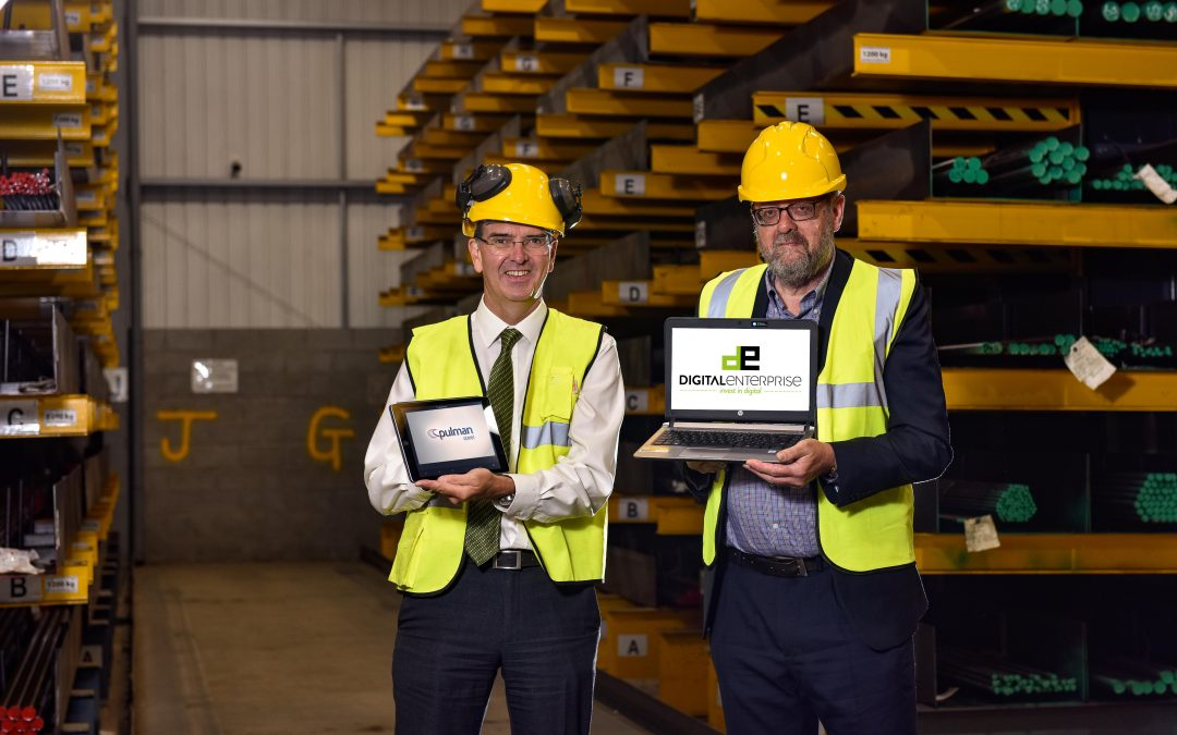 Sales up at historic West Yorkshire steel firm after £12,000 digital technology investment