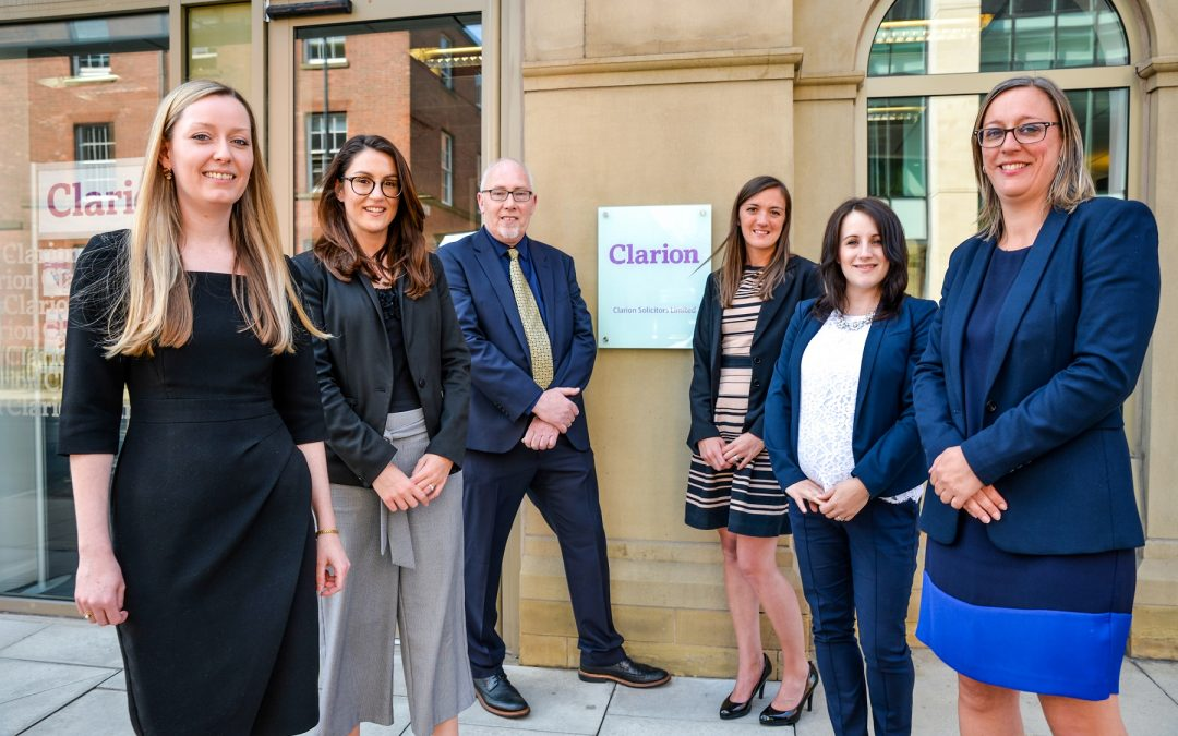 Seven promotions at Clarion