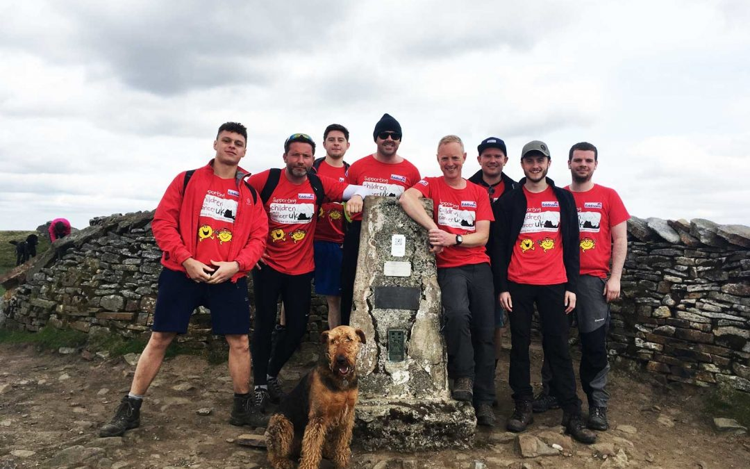 Eddisons team raises over £4,000 for children's charity with Three Peaks challenge