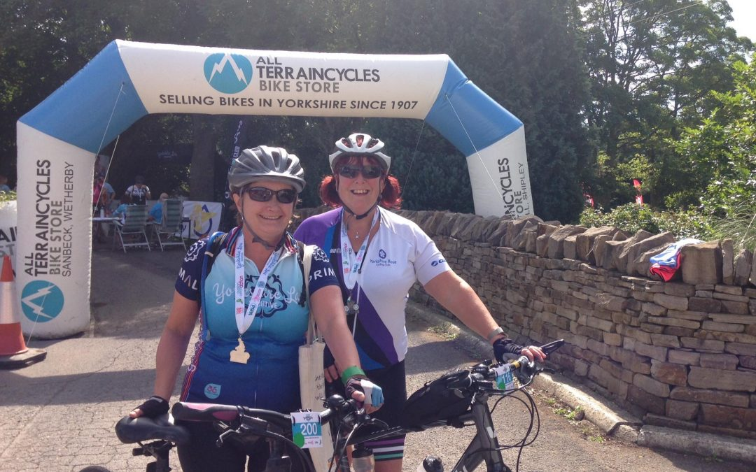 Over 500 women take to two wheels for Yorkshire Lasses ladies-only charity cycling sportive