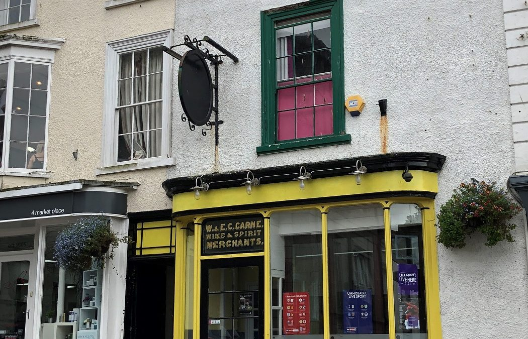 Helston pub is put up for auction