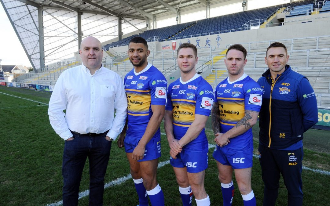 Leeds Rhinos score for auto engineering firm