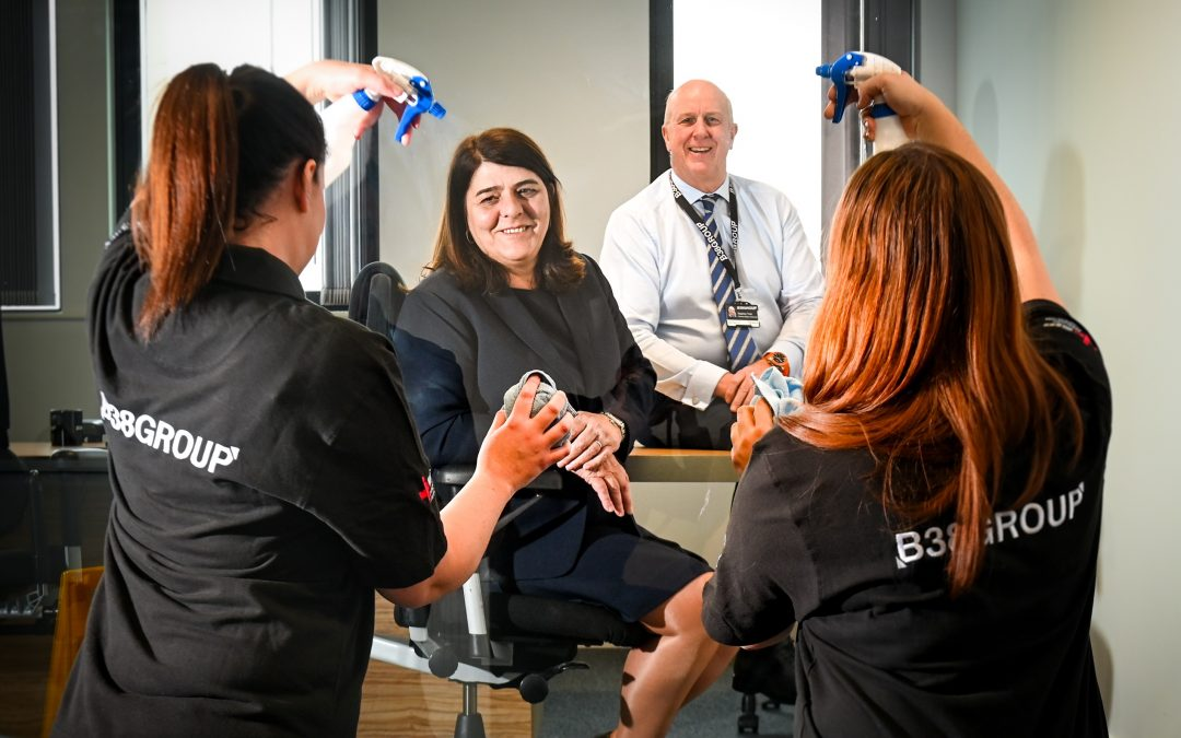 B38 Group's cleaning services division wins £2m of new contracts in first quarter