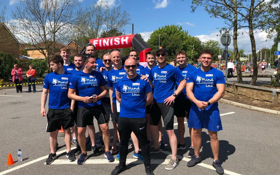 Eddisons triathlon team raise £5,000 for Yorkshire mental health charity