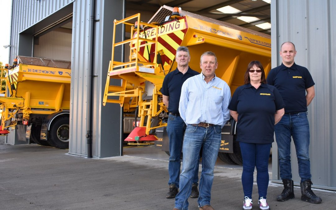 Leading gritter manufacturer creates new jobs with £1.3m Scottish  investment