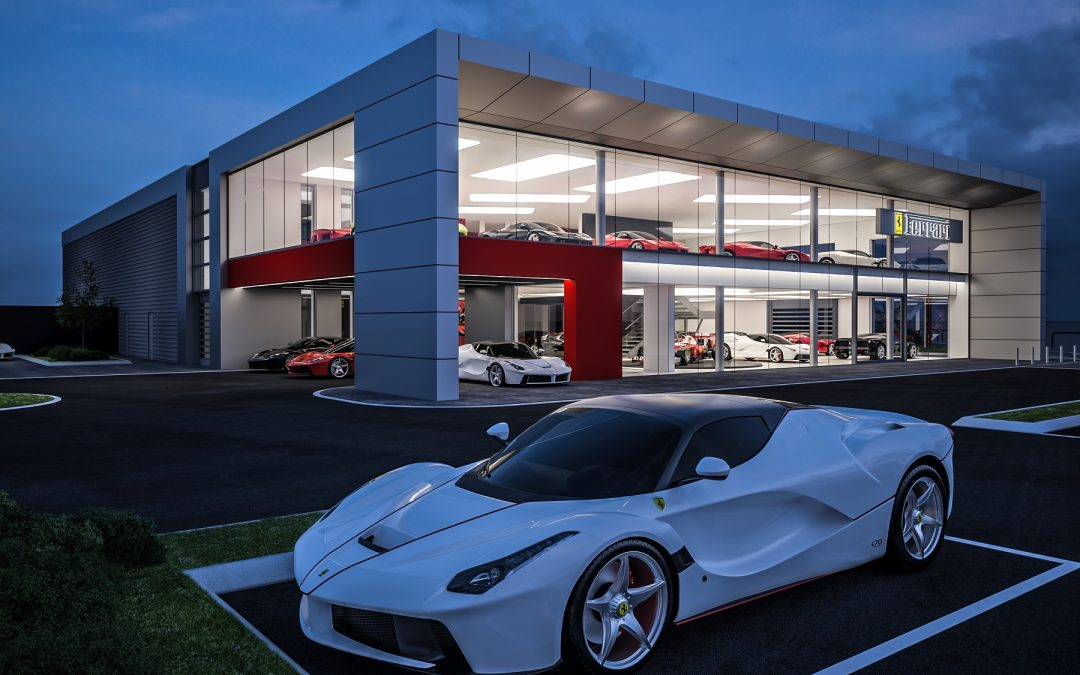 JCT600 announces £8m investment in new Ferrari Leeds showroom and specialist repair centre