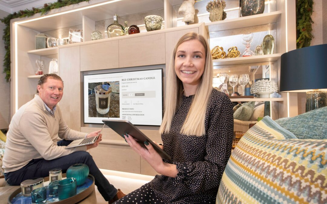 Fast-growing Yorkshire interiors business invests £40,000 in new e-commerce platform
