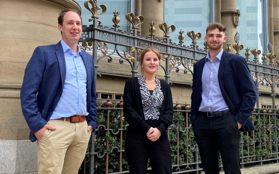 Eddisons invests in new talent with three student placement hires