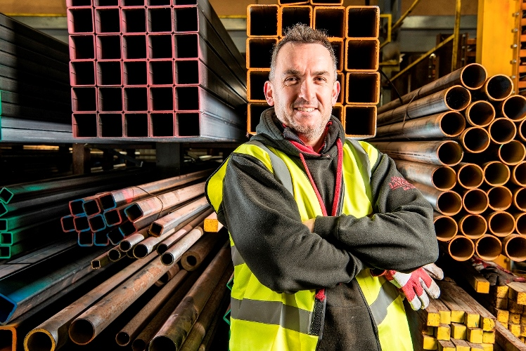 West Yorkshire steel company chosen as 'the face of family business'