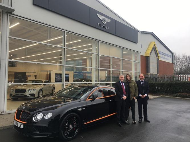 Bentley teams up with Michelin-starred Leeds restaurant