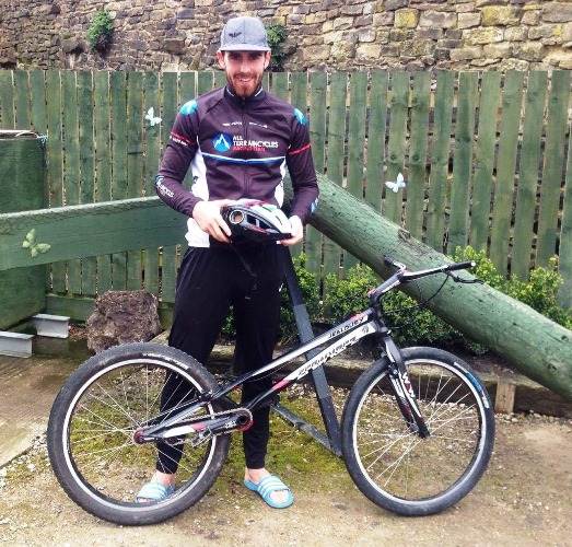 Yorkshire's oldest bike retailer supports world champion trials rider from Haworth