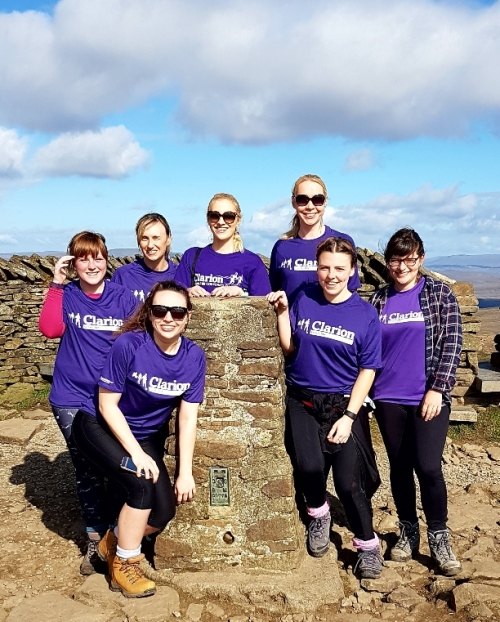 Clarion team completes Three Peaks fundraiser for Yorkshire Air Ambulance