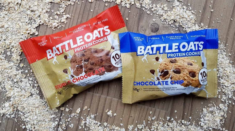 Battle Oats launches world's first plant-based protein cookie