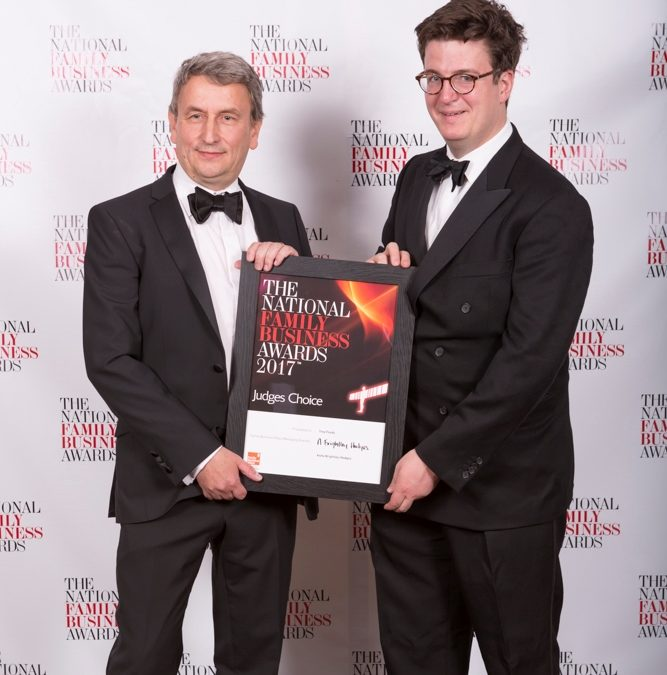 Yorkshire Food business takes title in national family business awards