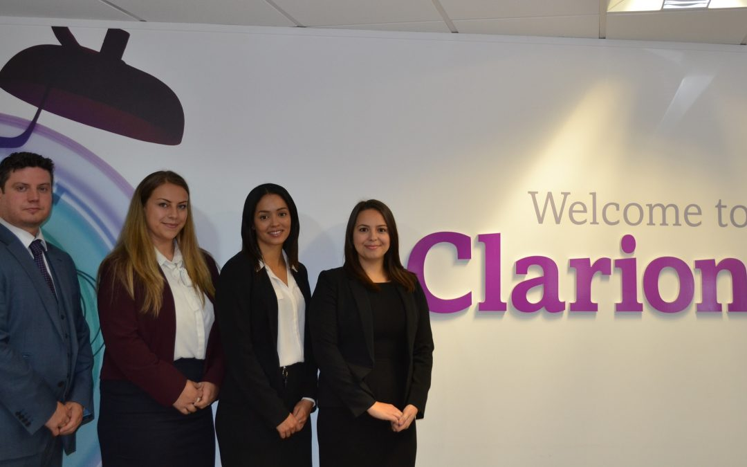 Four more trainees join growing Leeds law firm Clarion