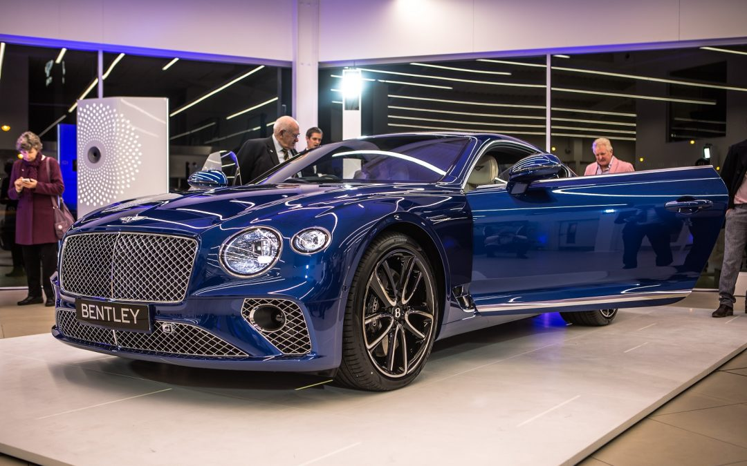 Bentley Newcastle unveils new Continental GT