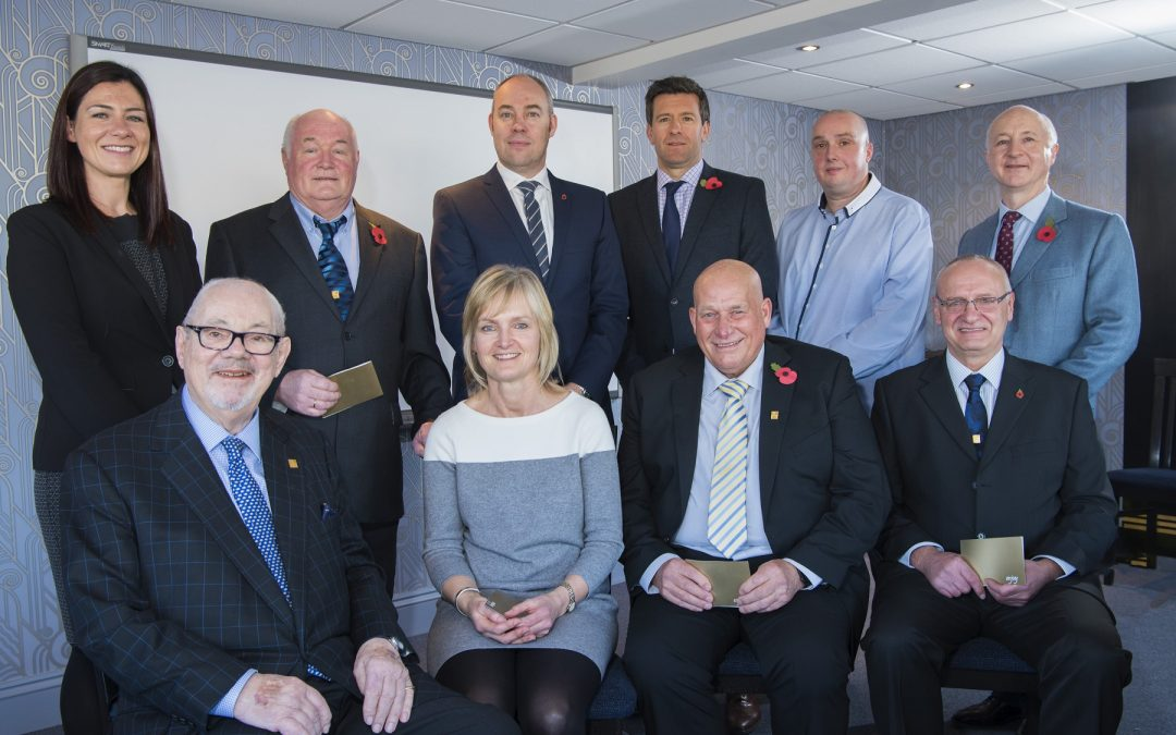 Five Reed Boardall staff celebrate more than a total of 150 years of service