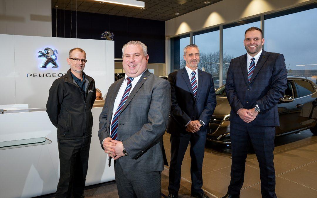 JCT600's re-developed Peugeot Bradford dealership opens