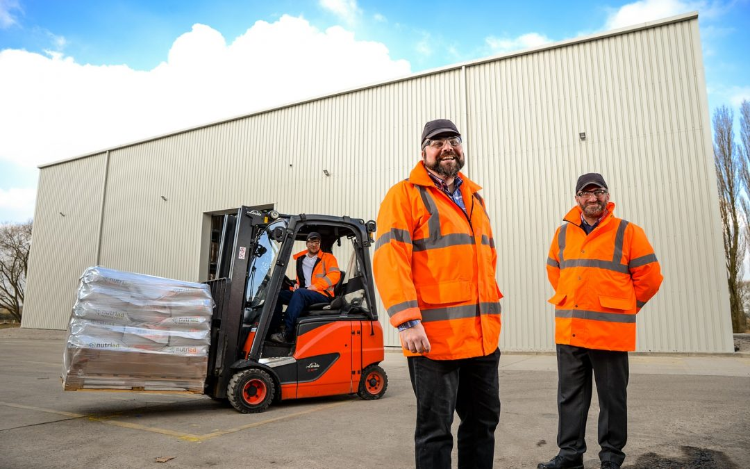Chemical processing business completes work on new £1m warehouse project