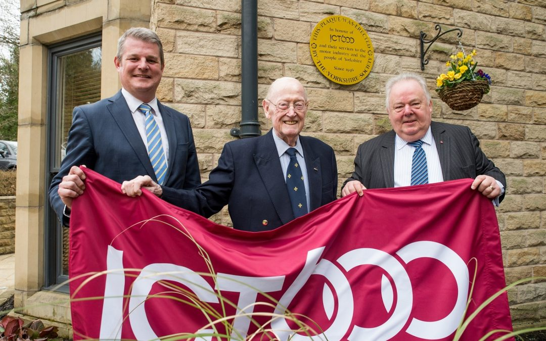 The Yorkshire Society honours Jack Tordoff MBE and JCT600