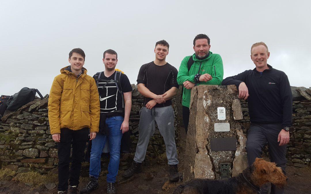 Eddisons £3,000 Three Peaks fundraising challenge gets underway