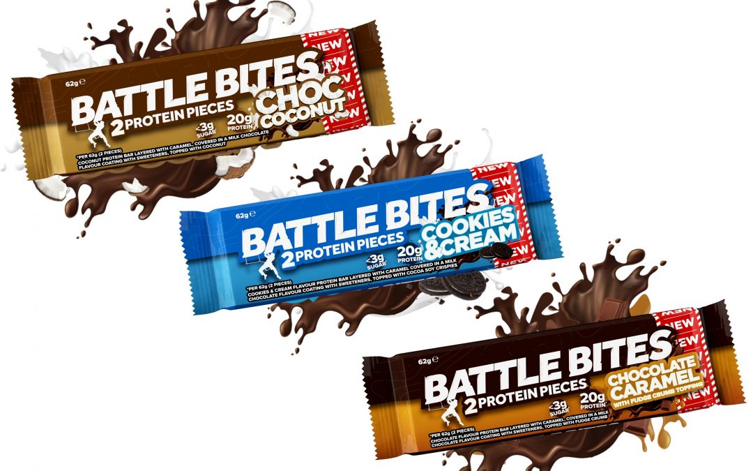 New low sugar high protein Battle Bites launched to compete in traditional confectionery sector