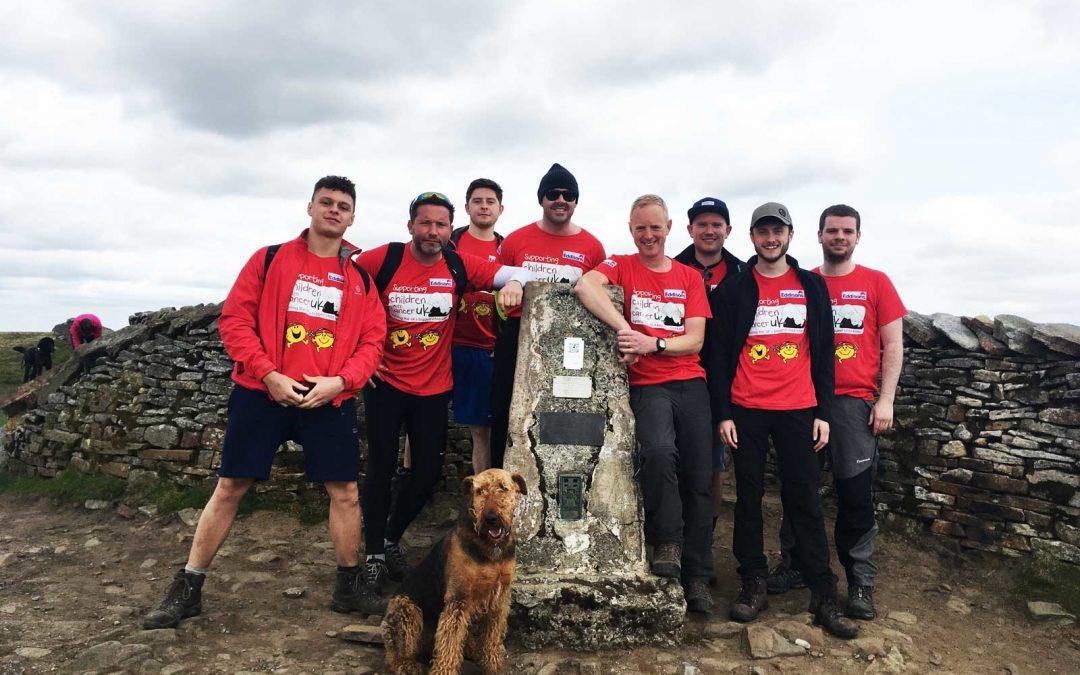 Eddisons team raises over £4,000 for children's charity with Three Peaks challenge