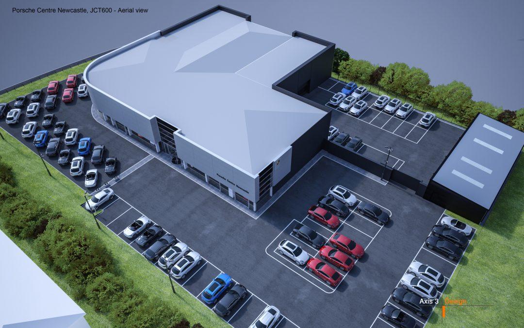 Porsche Centre Newcastle to undergo expansion