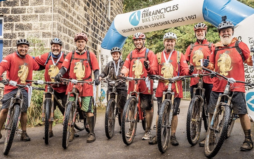 Sue Ryder cycle events raise over £15,000