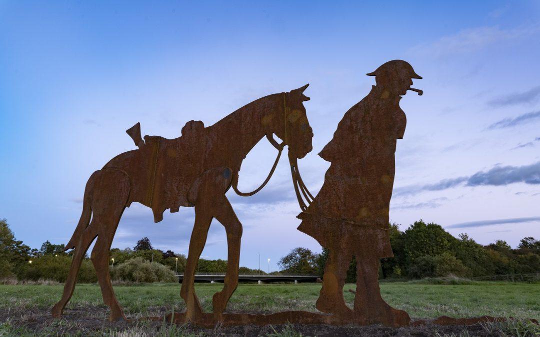 Ripon's Econ brings history to life with World War I centenary art installation